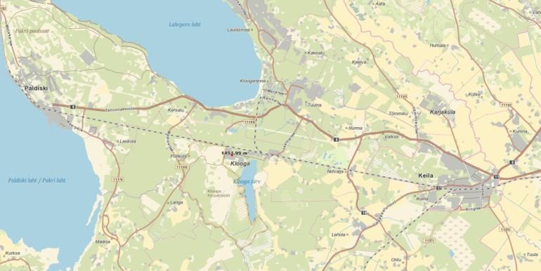 Harjumaa, Lääne-Harju vald, Klooga, Kastani tn 2